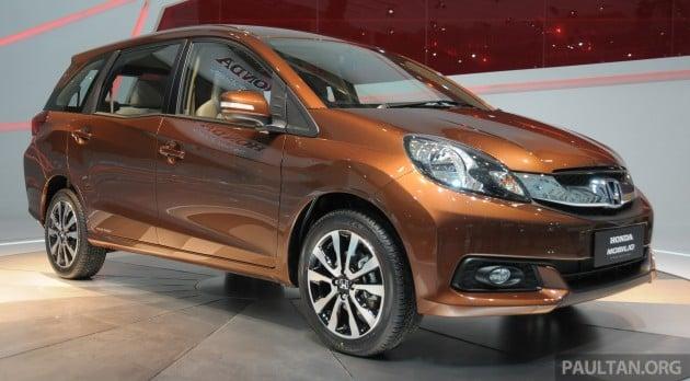 Honda Mobilio Due For A Major Change This 2016