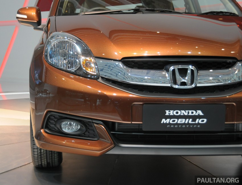 Honda Mobilio – full details and live gallery of the MPV Image #199993
