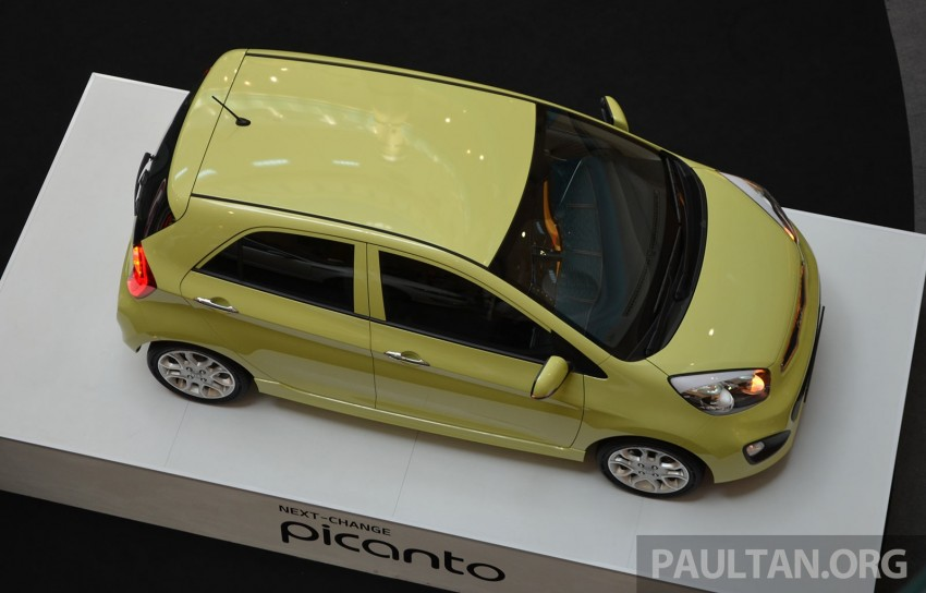Kia Picanto previewed in Malaysia, launch next month Image #200435