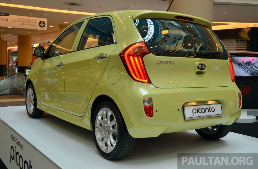 Kia Picanto previewed in Malaysia, launch next month Image #200445