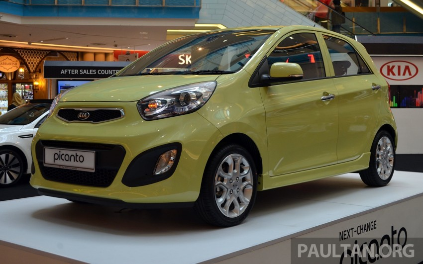 Kia Picanto previewed in Malaysia, launch next month Image #200447