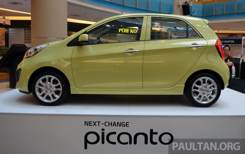 Kia Picanto previewed in Malaysia, launch next month Image #200448