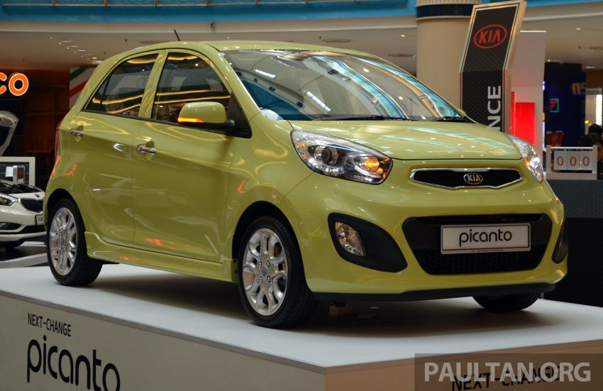 Kia Picanto previewed in Malaysia, launch next month Image #200453