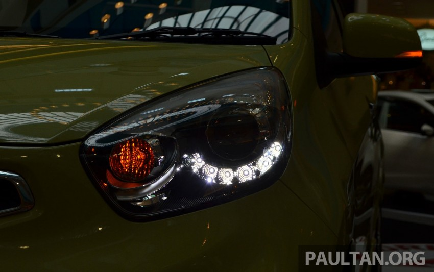 Kia Picanto previewed in Malaysia, launch next month Image #200436