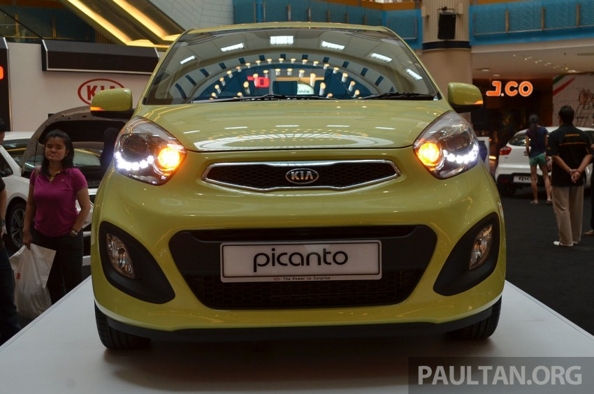Kia Picanto previewed in Malaysia, launch next month Image #200437