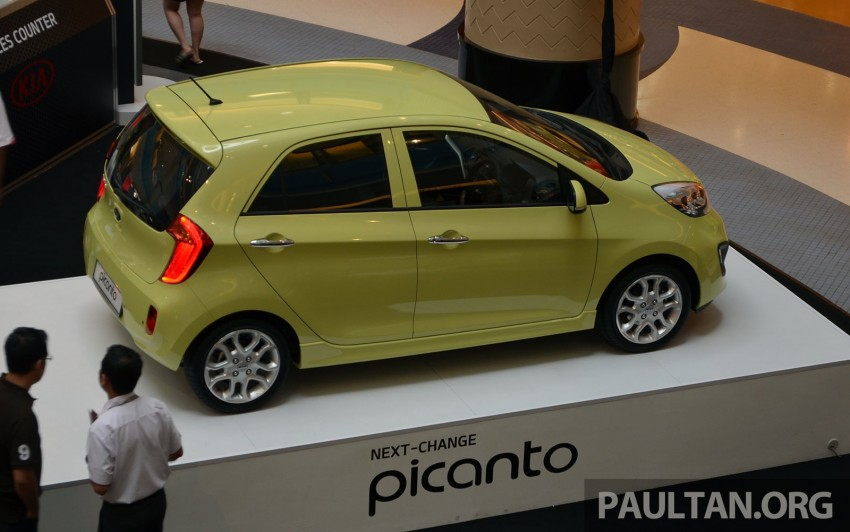 Kia Picanto previewed in Malaysia, launch next month Image #200439