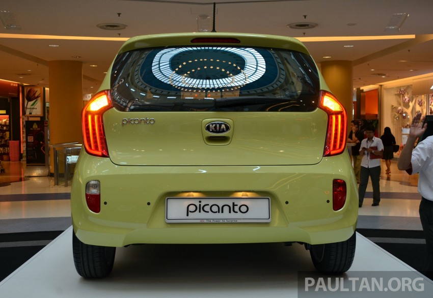 Kia Picanto previewed in Malaysia, launch next month Image #200442