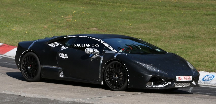 SPYSHOTS: Gallardo-replacing Lamborghini Cabrera Image #201533