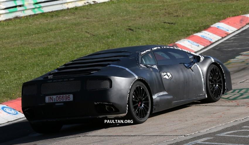 SPYSHOTS: Gallardo-replacing Lamborghini Cabrera Image #201539