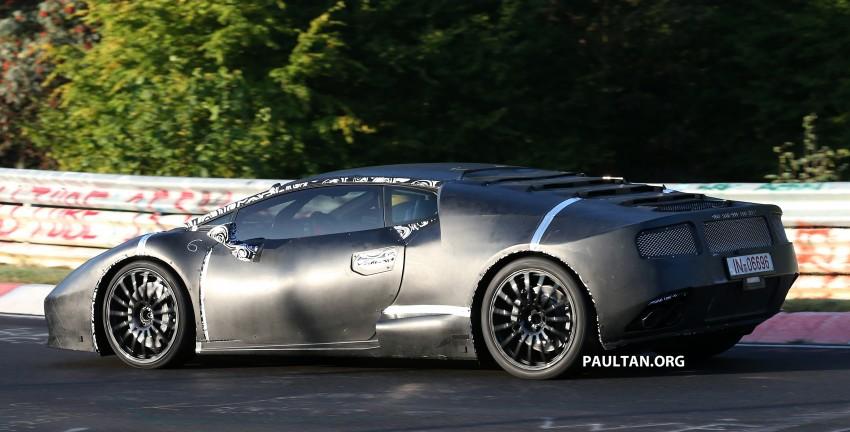 SPYSHOTS: Gallardo-replacing Lamborghini Cabrera Image #201546