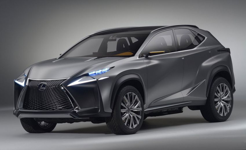 Lexus LF-NX – full gallery and video of the concept Image #198765