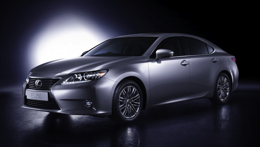 Lexus ES bookings open – priced from RM260k Image #196361