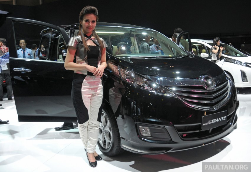 Mazda Biante MPV to debut in Malaysia in November – 'new look' CX-9 SUV to premiere alongside it Image #200801