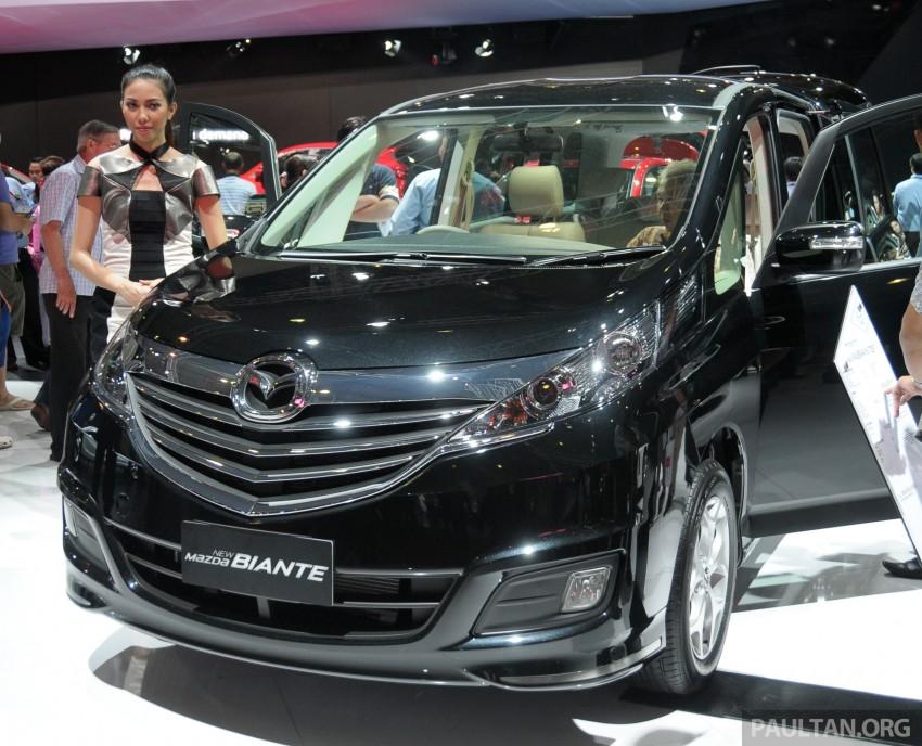 Mazda Biante MPV to debut in Malaysia in November – 'new look' CX-9 SUV to premiere alongside it Image #200800