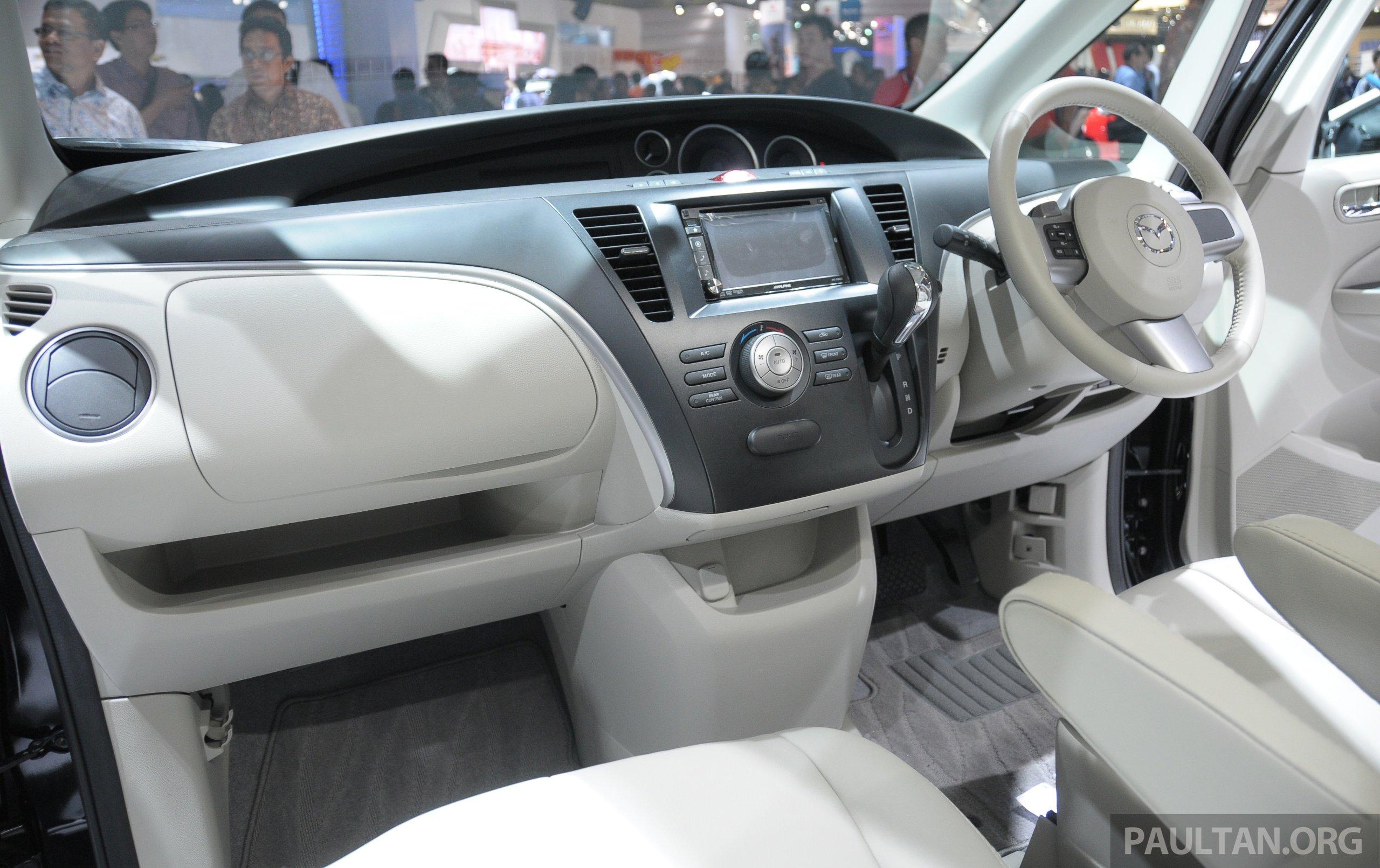 Mazda Biante Mpv To Debut In Malaysia In November New