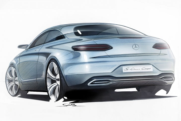 VIDEO: Mercedes Concept S-Class Coupe previewed Image #197336