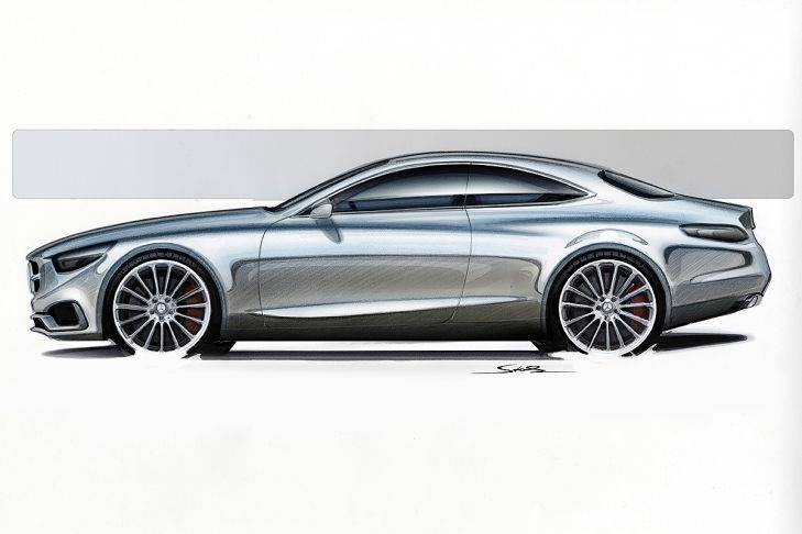 VIDEO: Mercedes Concept S-Class Coupe previewed Image #197337