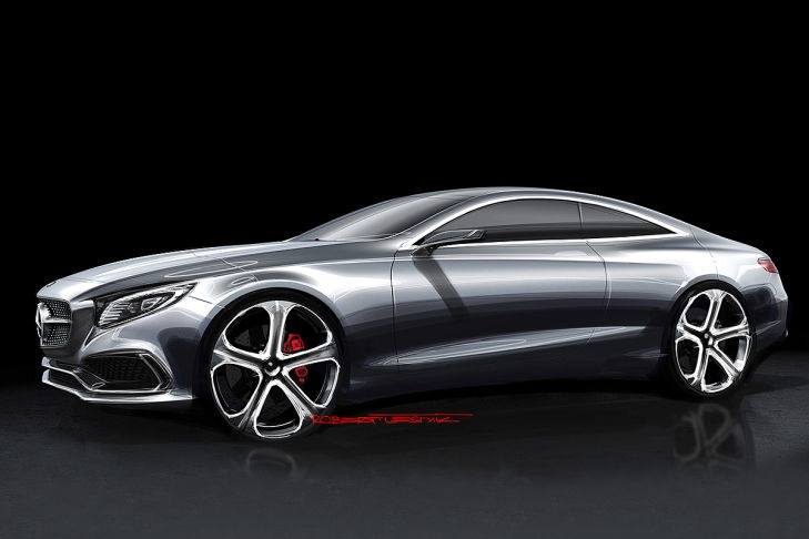 VIDEO: Mercedes Concept S-Class Coupe previewed Image #197338