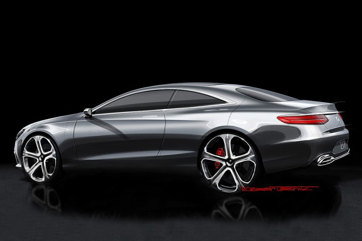 VIDEO: Mercedes Concept S-Class Coupe previewed Image #197339