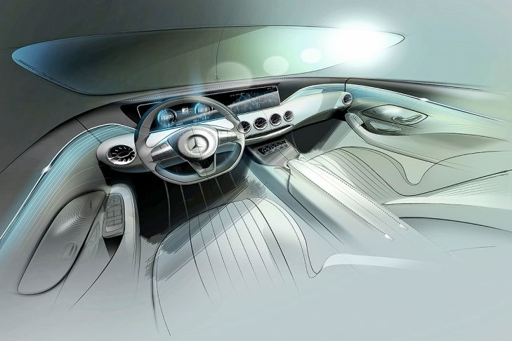 VIDEO: Mercedes Concept S-Class Coupe previewed Image #197341