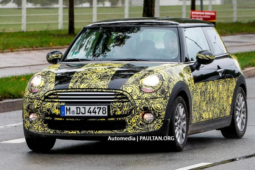 SPYSHOTS: F56 MINI Cooper testing in Germany Image #201057