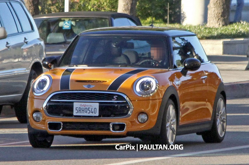 SPYSHOTS: Clearest view of the F56 MINI yet Image #201973