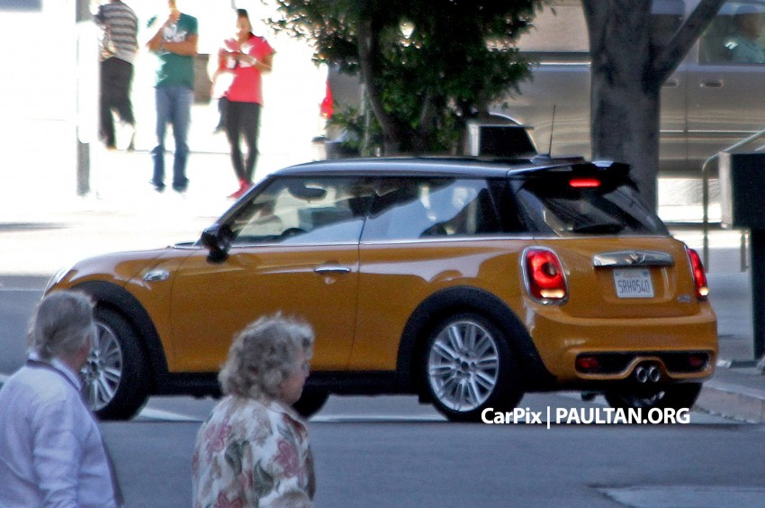 SPYSHOTS: Clearest view of the F56 MINI yet Image #201969