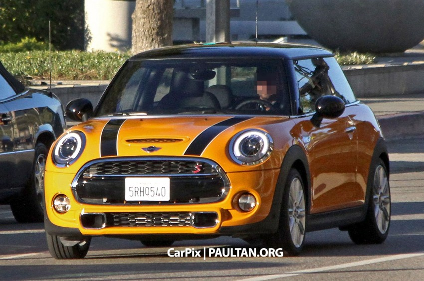 SPYSHOTS: Clearest view of the F56 MINI yet Image #201971