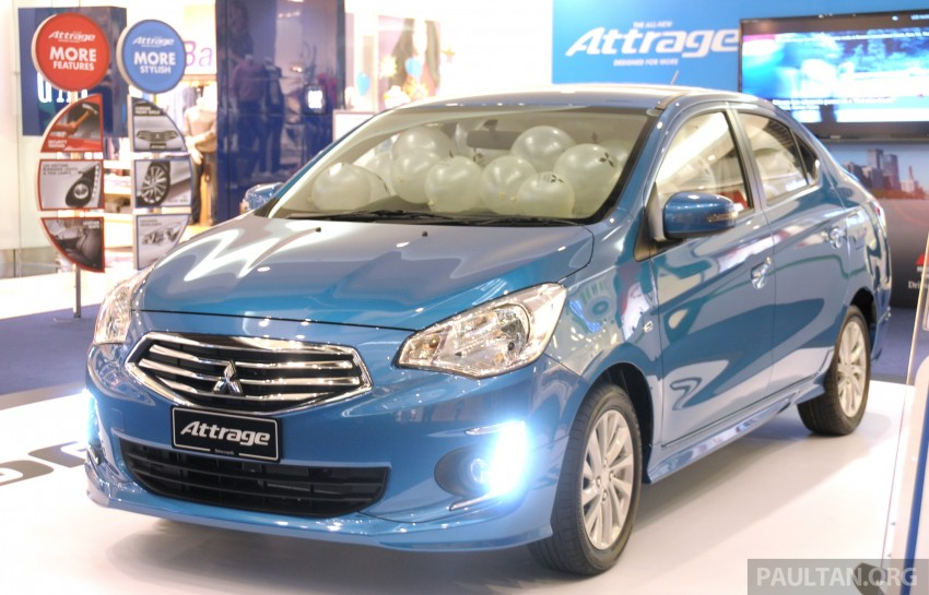 Mitsubishi Attrage – full Malaysian specs and prices Image #197405