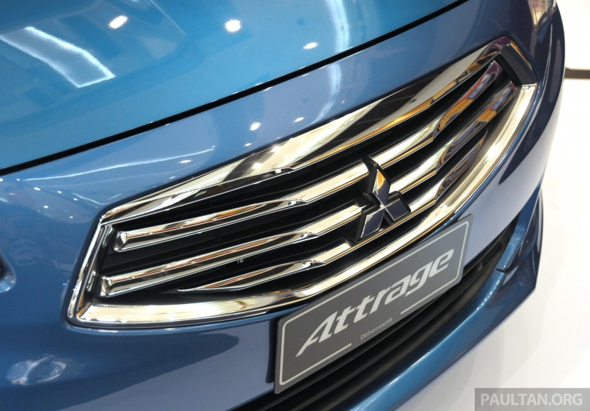 Mitsubishi Attrage – full Malaysian specs and prices Image #197413