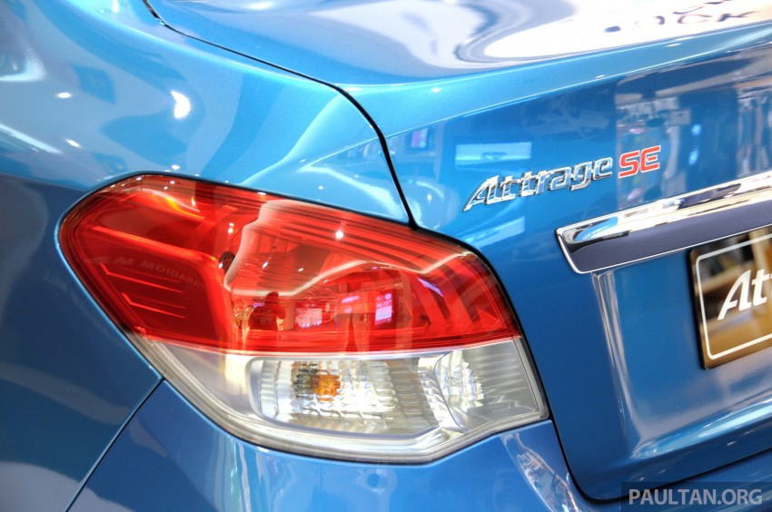Mitsubishi Attrage – full Malaysian specs and prices Image #197416