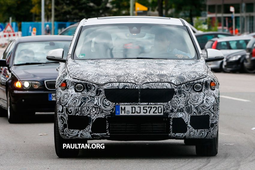 SPYSHOTS: Next-gen BMW X1 to be front-wheel drive? Image #199287