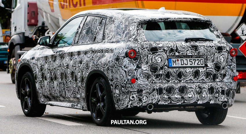 SPYSHOTS: Next-gen BMW X1 to be front-wheel drive? Image #199283