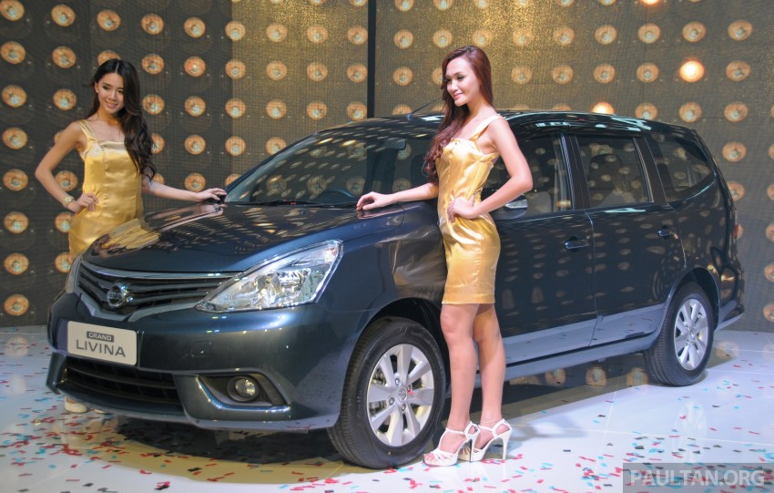 Nissan Grand Livina facelift introduced – from RM87k Image #200946