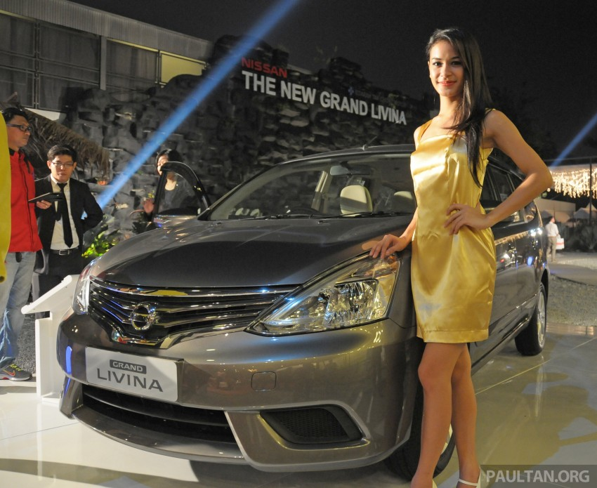 Nissan Grand Livina facelift introduced – from RM87k Image #200979