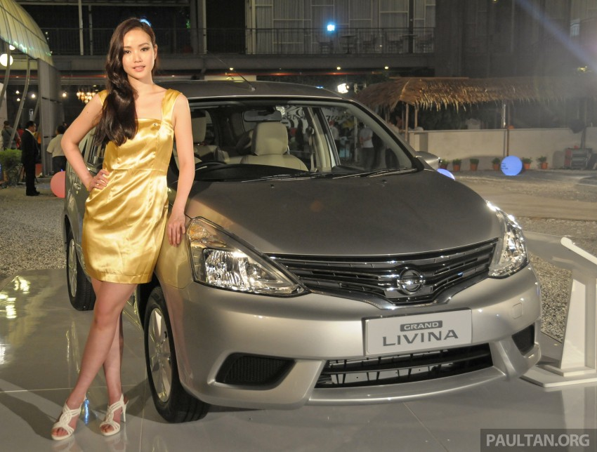 Nissan Grand Livina facelift introduced – from RM87k Image #201003