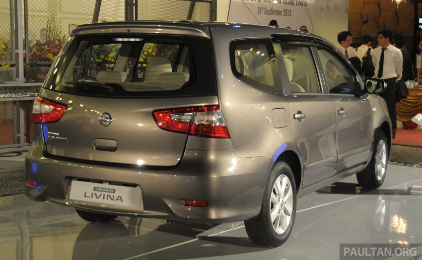Nissan Grand Livina facelift introduced – from RM87k Image #201005