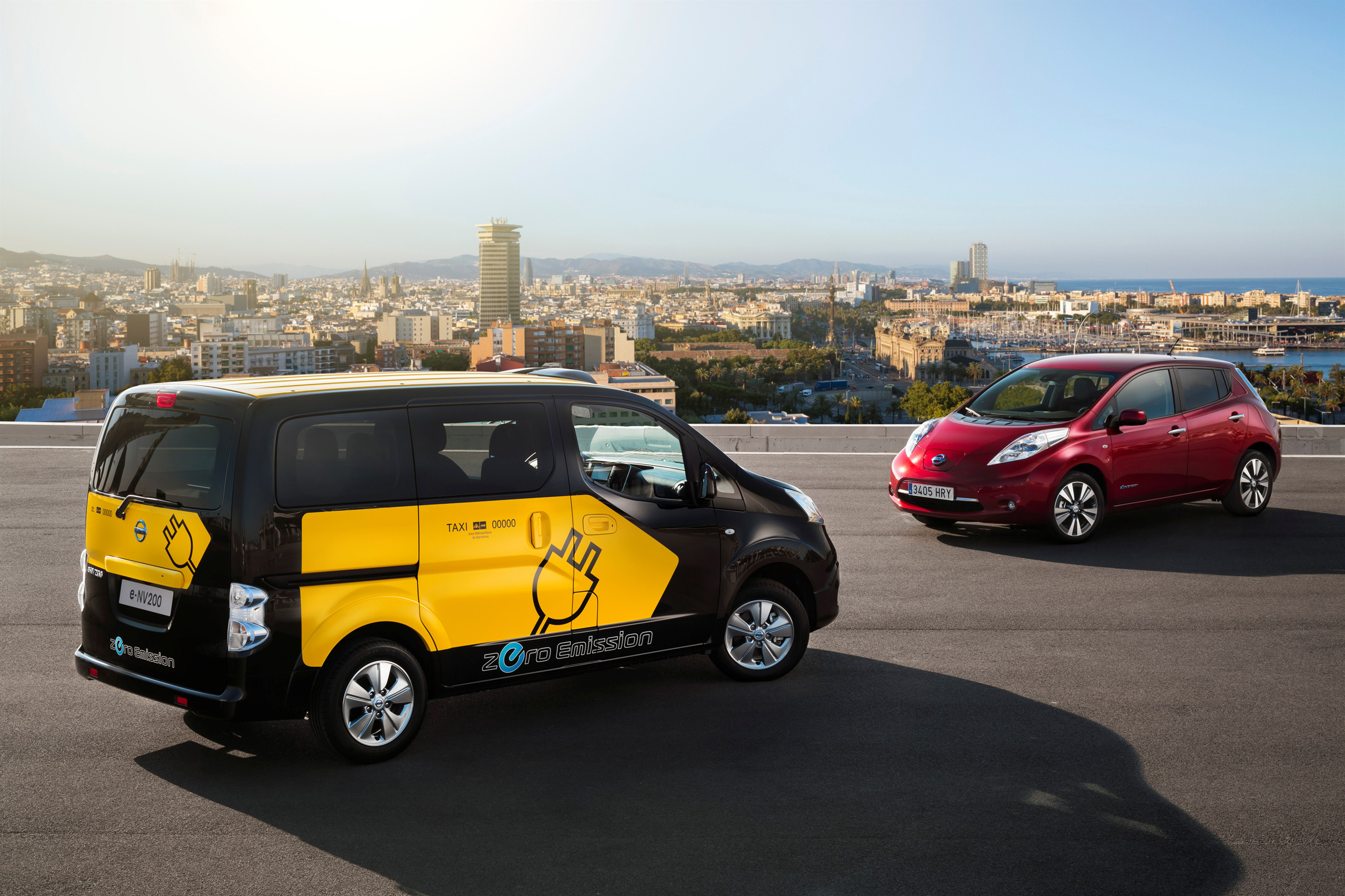 Barcelona To Use Nissan E Nv200 Electric Taxi Cabs Paul