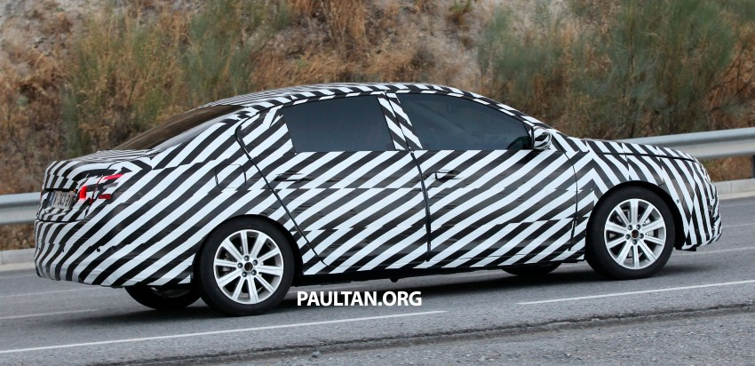 SPYSHOTS: Is this the new Peugeot 308 Sedan? Image #199820