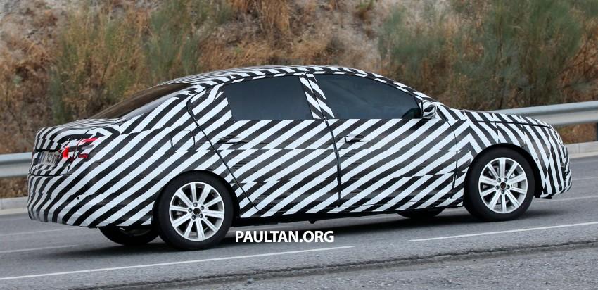 SPYSHOTS: Is this the new Peugeot 308 Sedan? Image #199820