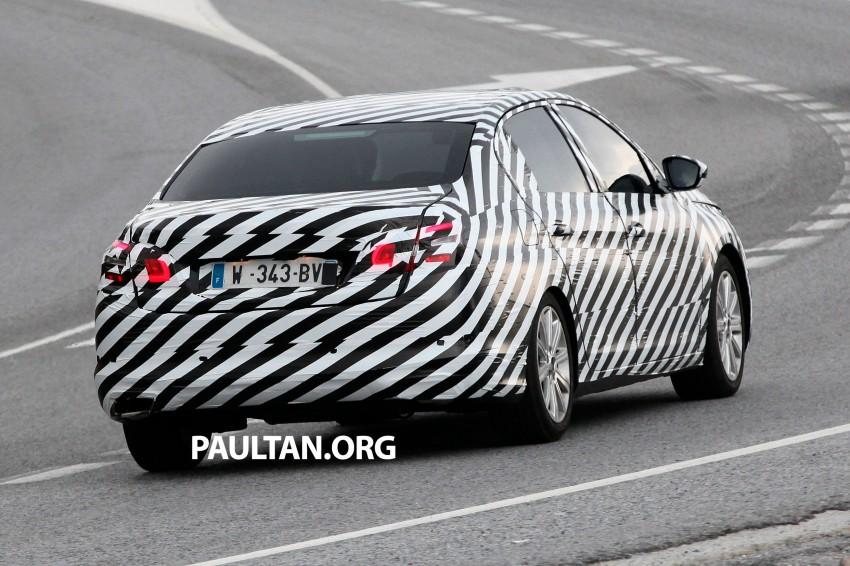SPYSHOTS: Is this the new Peugeot 308 Sedan? Image #199818