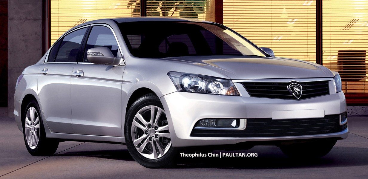 Proton perdana replacement based on honda accord to be for Honda accord base model