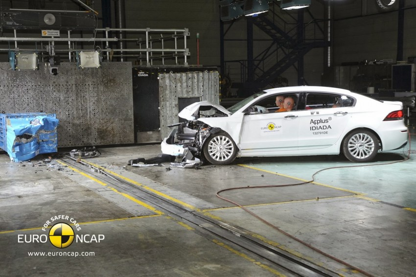 Qoros 3 Sedan is first Chinese car to get 5-star Euro NCAP rating; highest score achieved this year Image #201468