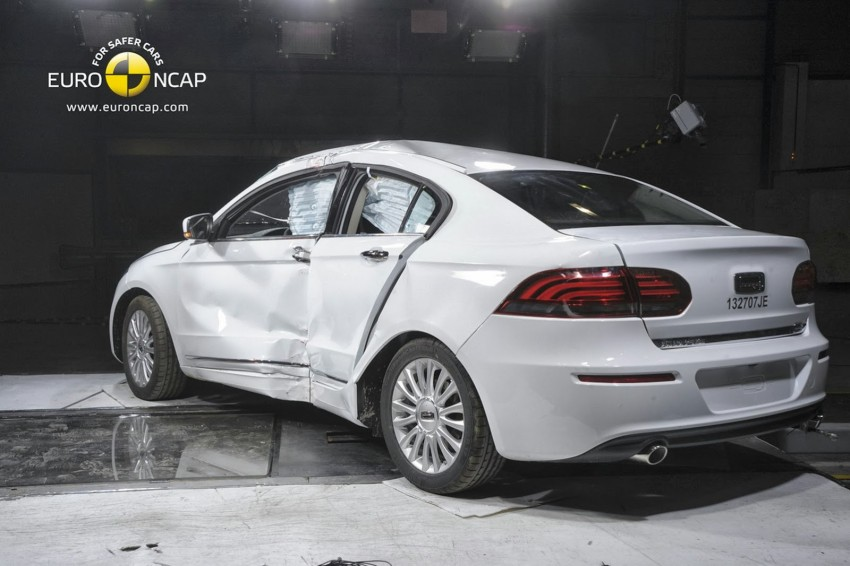 Qoros 3 Sedan is first Chinese car to get 5-star Euro NCAP rating; highest score achieved this year Image #201470