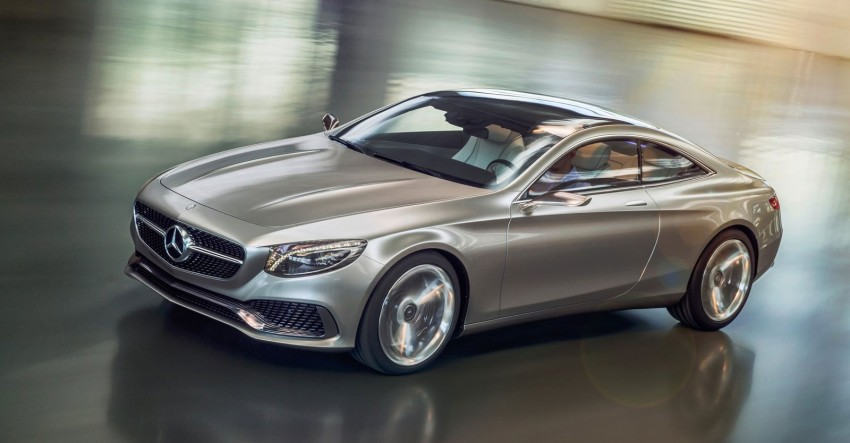 Mercedes-Benz S-Class Coupe Concept makes debut Image #197839