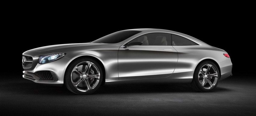 Mercedes-Benz S-Class Coupe Concept makes debut Image #197840