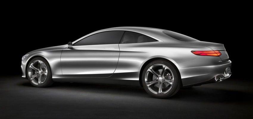 Mercedes-Benz S-Class Coupe Concept makes debut Image #197841
