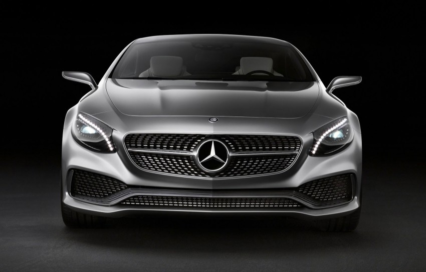 Mercedes-Benz S-Class Coupe Concept makes debut Image #197842