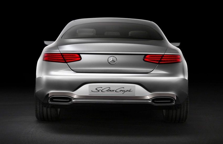 Mercedes-Benz S-Class Coupe Concept makes debut Image #197843