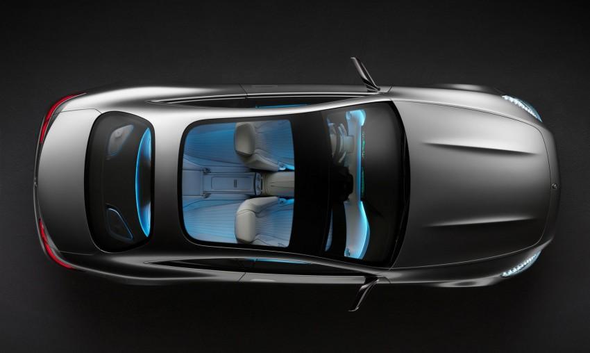 Mercedes-Benz S-Class Coupe Concept makes debut Image #197844